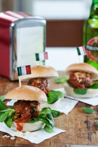 Italian Meatball Slider
