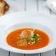 Paprikasoep met coquille | FoodBlaBla | styling en koken door Jacqueline Sluijter | fotografie door Sander Damen © Foodblabla