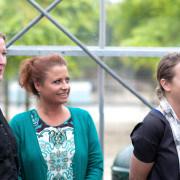 Jacqueline Sluijter en Sander Damen bij de Elle Eten, foodstyling wedstrijd