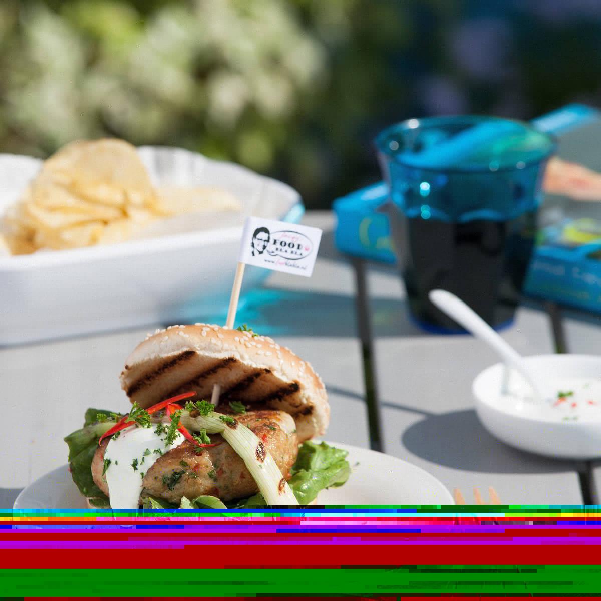 Oriëntaalse visburger, FoodBlaBla | styling en koken door Jacqueline Sluijter | fotografie door Sander Damen