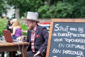 BurgeRmeester Impressie van het evenement Food Truck Festival TREK Utrecht 7-6-2014 | alle foto's ©Foodblabla