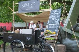 Baq Fiets Impressie van het evenement Food Truck Festival TREK Utrecht 7-6-2014 | alle foto's ©Foodblabla