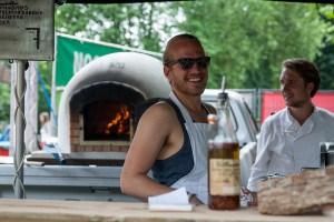 Wood Pizza Impressie van het evenement Food Truck Festival TREK Utrecht 7-6-2014 | alle foto's ©Foodblabla