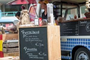Of je Spaanse Worst lust, Impressie van het evenement Food Truck Festival TREK Utrecht 7-6-2014 | alle foto's ©Foodblabla