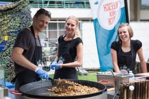 Vleesch noch Visch Impressie van het evenement Food Truck Festival TREK Utrecht 7-6-2014 | alle foto's ©Foodblabla