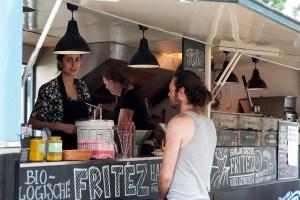 Fritez Impressie van het evenement Food Truck Festival TREK Utrecht 7-6-2014 | alle foto's ©Foodblabla