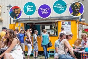 Pass the Peas Impressie van het evenement Food Truck Festival TREK Utrecht 7-6-2014 | alle foto's ©Foodblabla