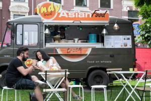 Indy Asian Impressie van het evenement Food Truck Festival TREK Utrecht 7-6-2014 | alle foto's ©Foodblabla