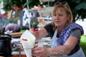 Bloempie @ Food Truck Festival TREK Utrecht 7-6-2014