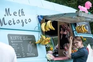 Melk Meisjes Impressie van het evenement Food Truck Festival TREK Utrecht 7-6-2014 | alle foto's ©Foodblabla