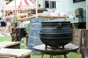 Onze Keuken Koken en Kunst @ Food Truck Festival TREK Utrecht 7-6-2014