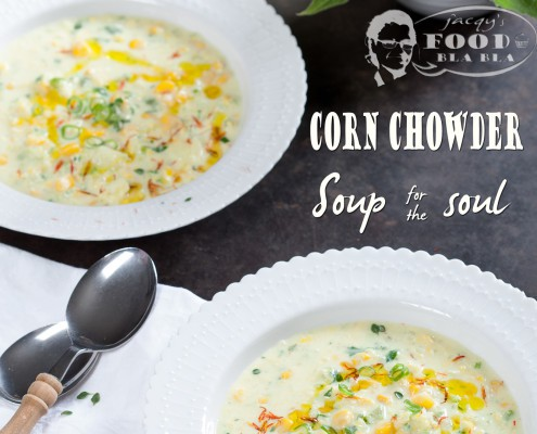 maissoep - corn chowder
