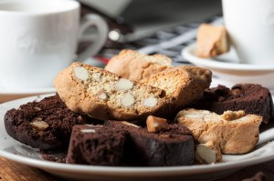 Biscotti met cacao - Cantuccini