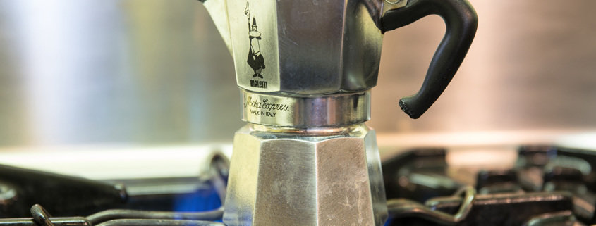 percolator koffie in Italie