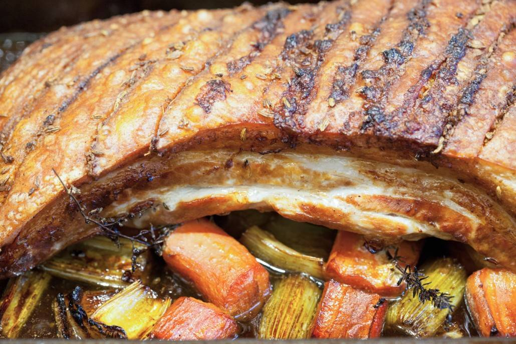 Geroosterd buikspek voor mannen en vrouwen