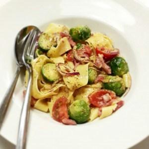 spruitjes met pasta en liefde