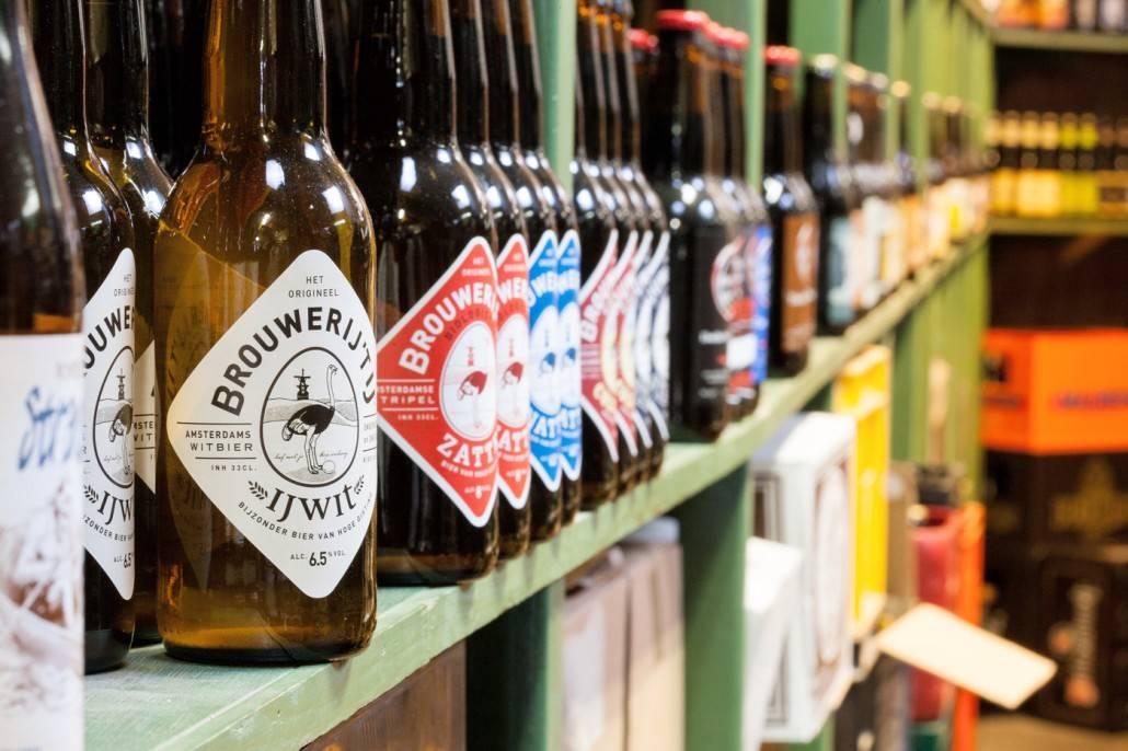 Brouwerij 't IJ IJwit bij Slijterij van Pernis