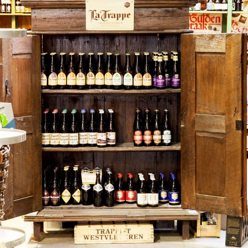 La Trappe, trappisten bier bij Slijterij van Pernis