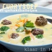 thaise currysoep met gember