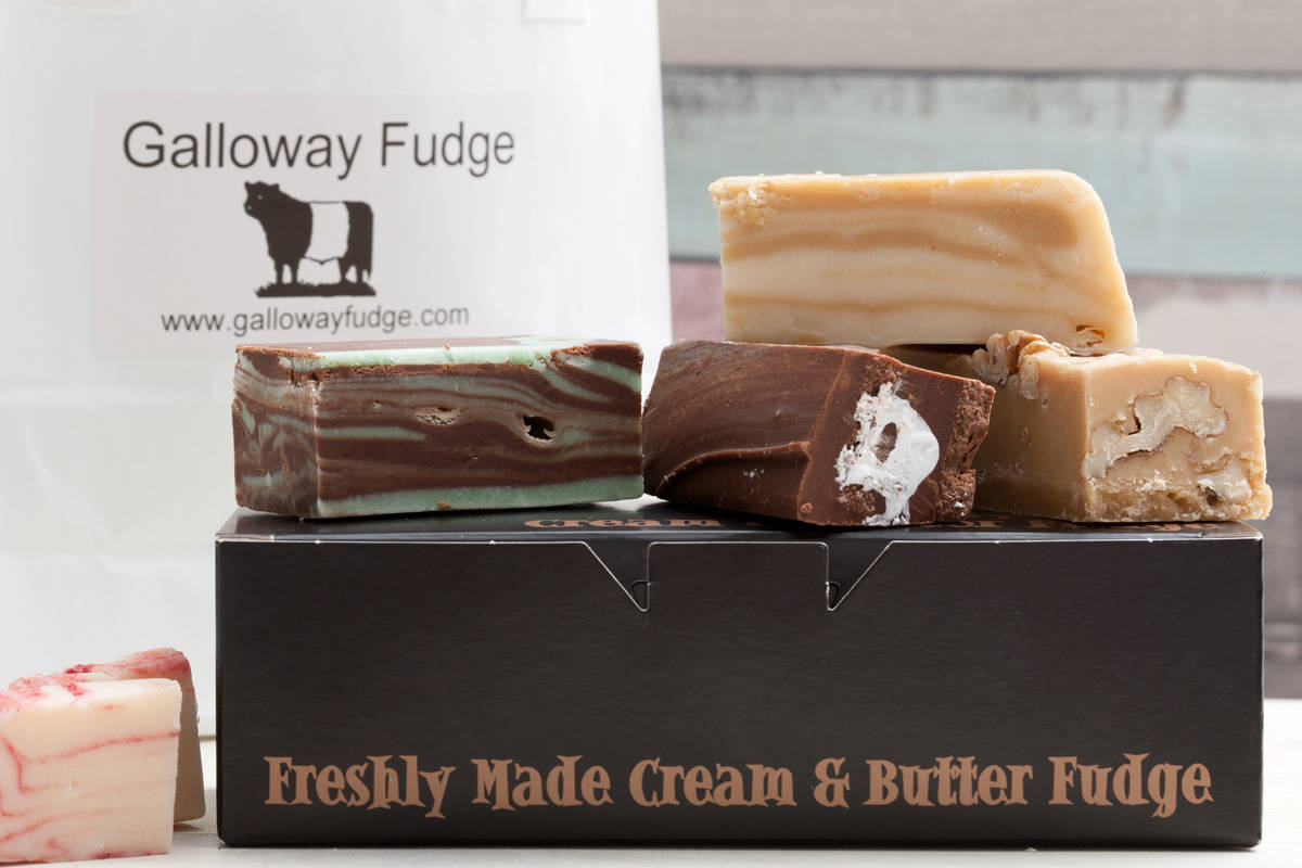 happiness is fudge from galloway