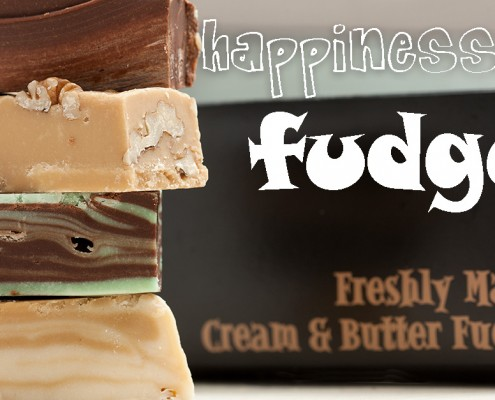 happiness is fudge