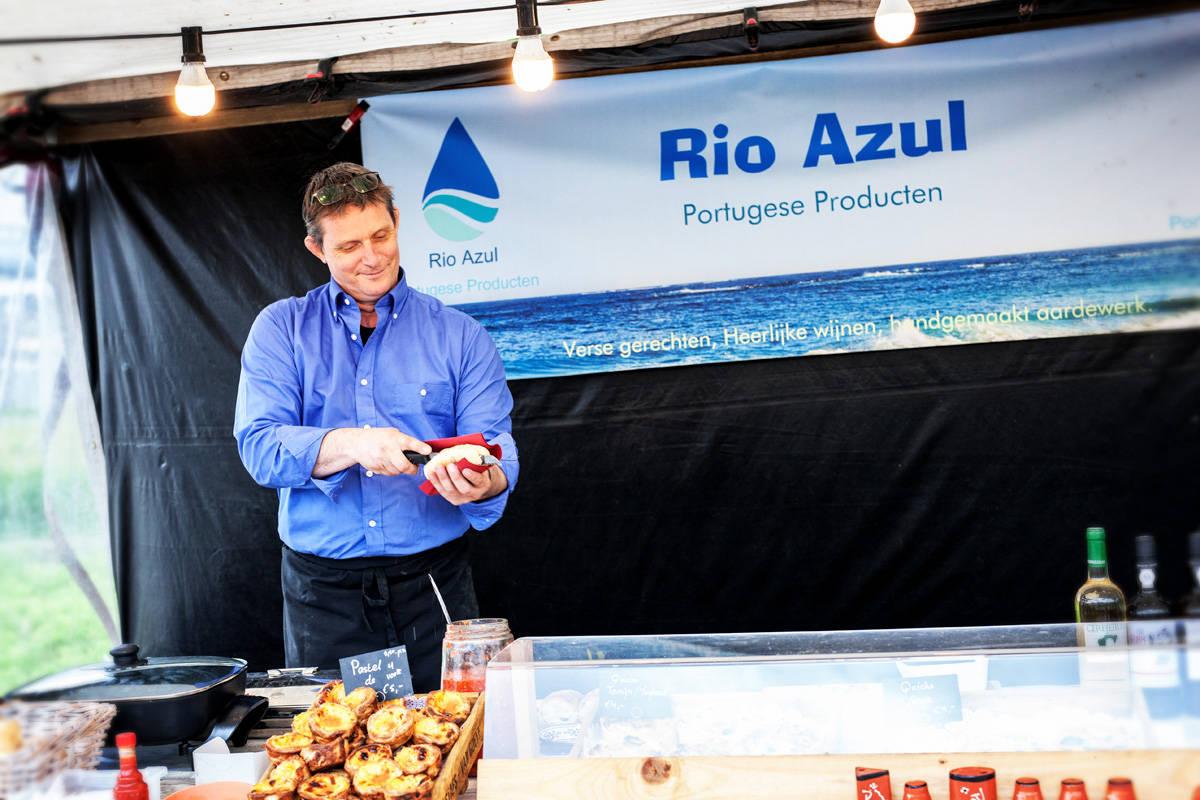 Rio Azul op zusje van de sonsbeekmarkt 31 mei 2015