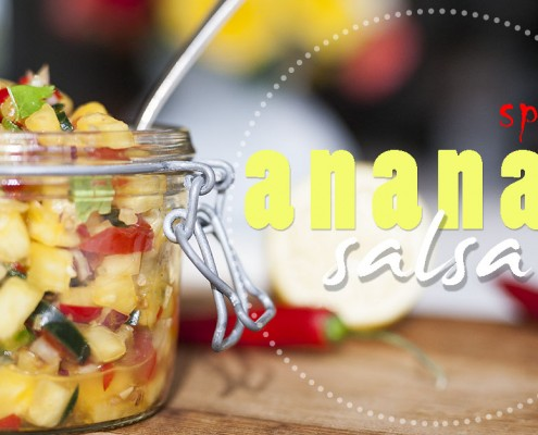 ananas salsa (hot)