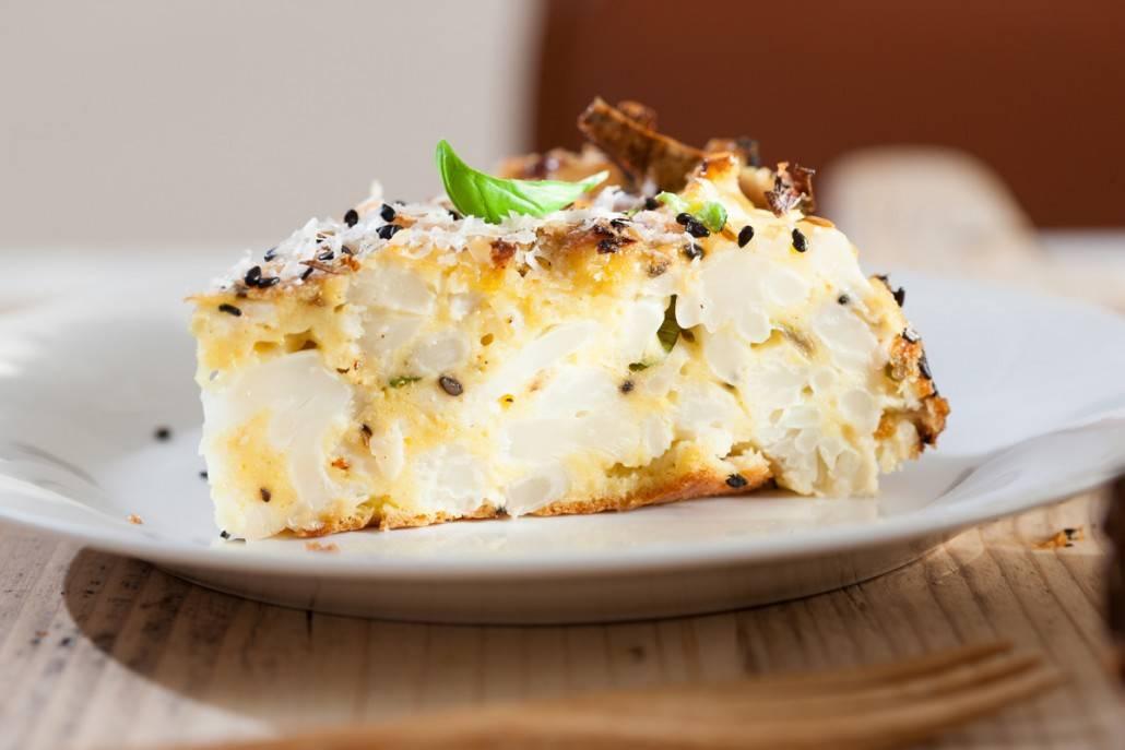 bloemkool hartige taart