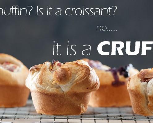 Cruffins van croissantdeeg