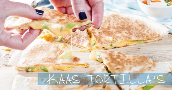 kaas tortilla's