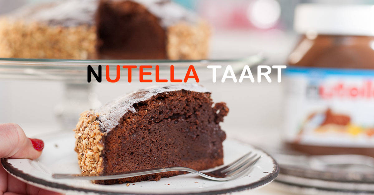 Nutella taartje