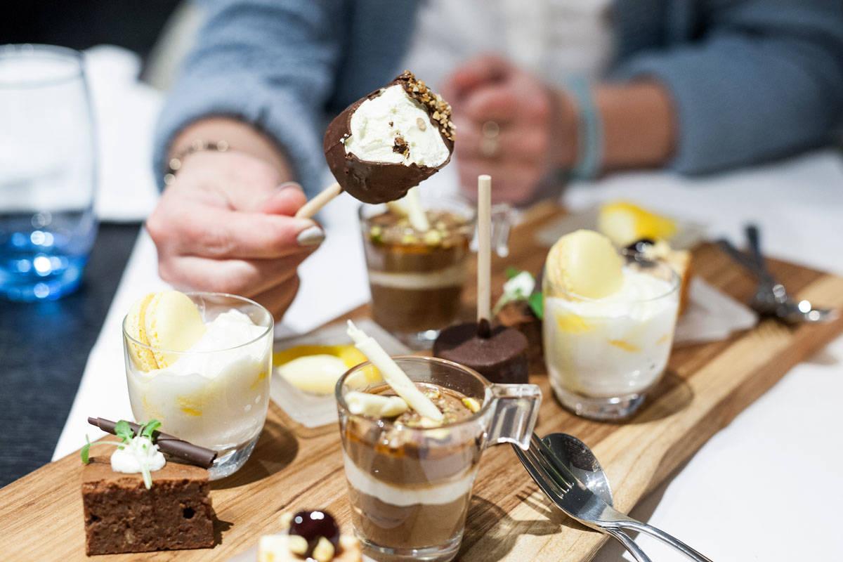 Het dessert Kingstreet Bilderberg Apeldoorn