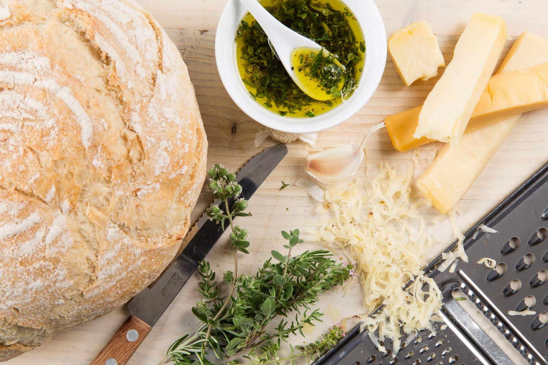 Cheesy bread met kaas uit Kollum