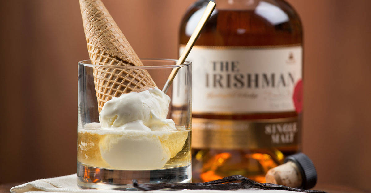 whisky and icecream