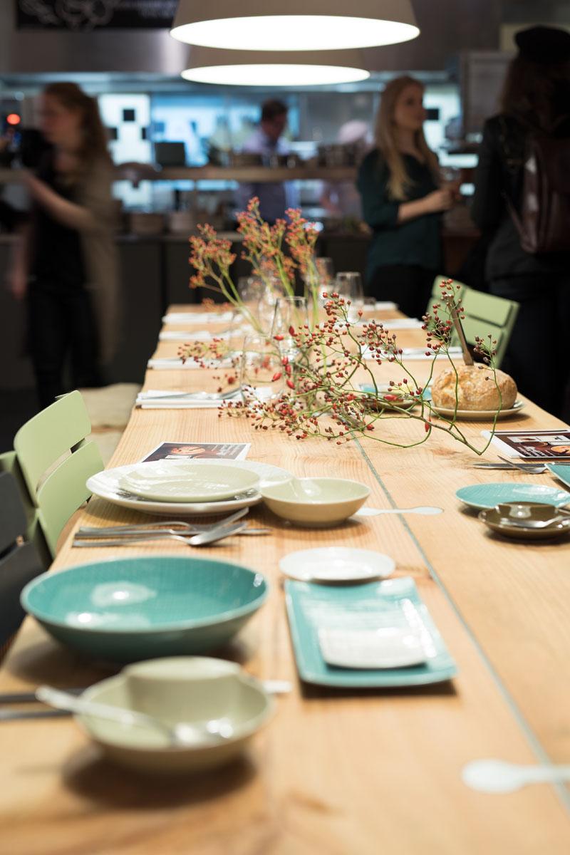 Feestelijk tafelen bij Dudok