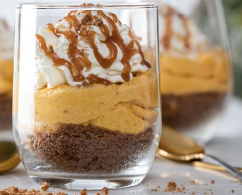 pompoencheesecake zonder ove
