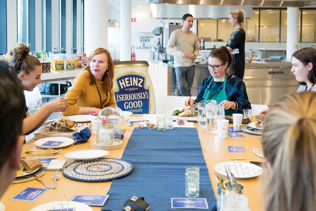 Lunch @ Kraft Heinz innovation Center