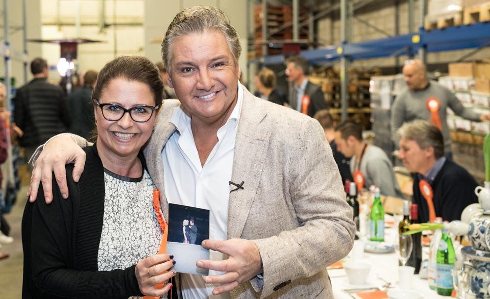 René Froger en Jacqueline Sluijter (foodblabla)