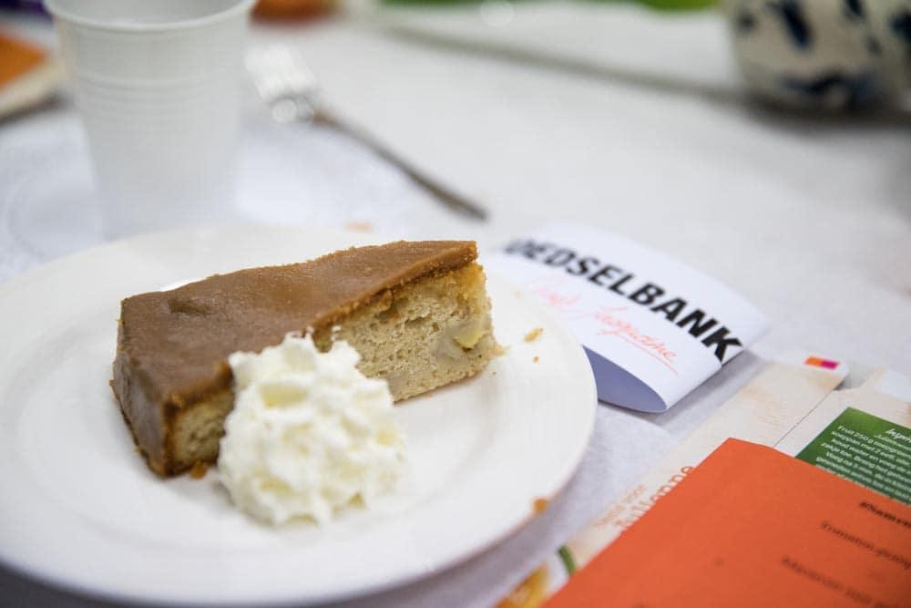 Banoffe cake van Honig bij de voedselbank