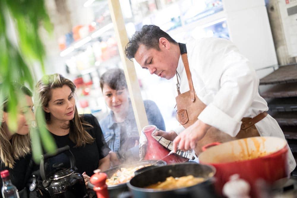 Danny Jansen - kookworkshop Le Creuset