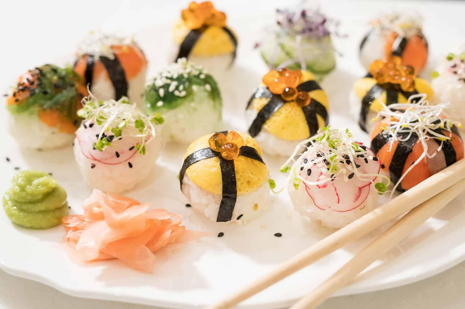Sushi Snack Balletjes