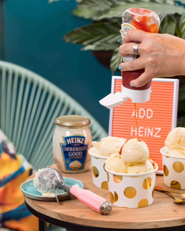 Heinz Mayo Ice Cream Speciaal