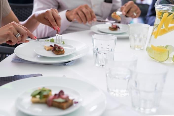 Foodblabla gaat lunchen met Dafne en Epke met Campina 05