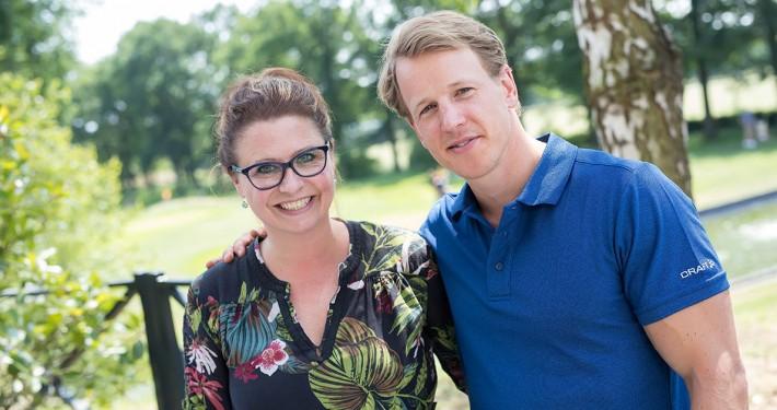 Jacqueline en Epke Zonderland