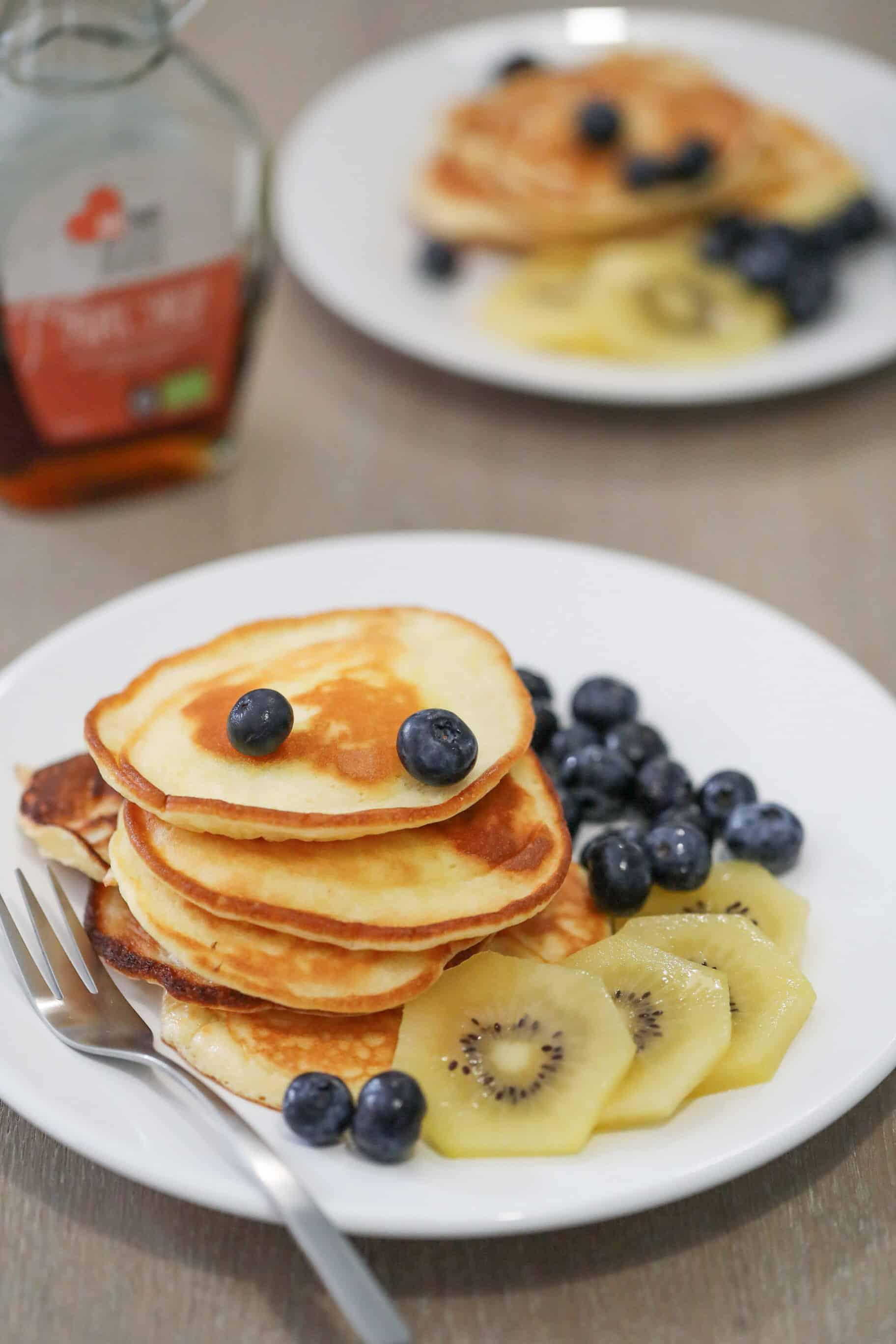 Kwark Campina Pancakes