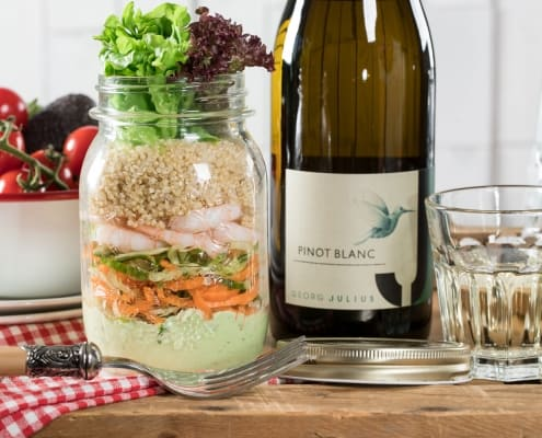 Salad on to go Jar
