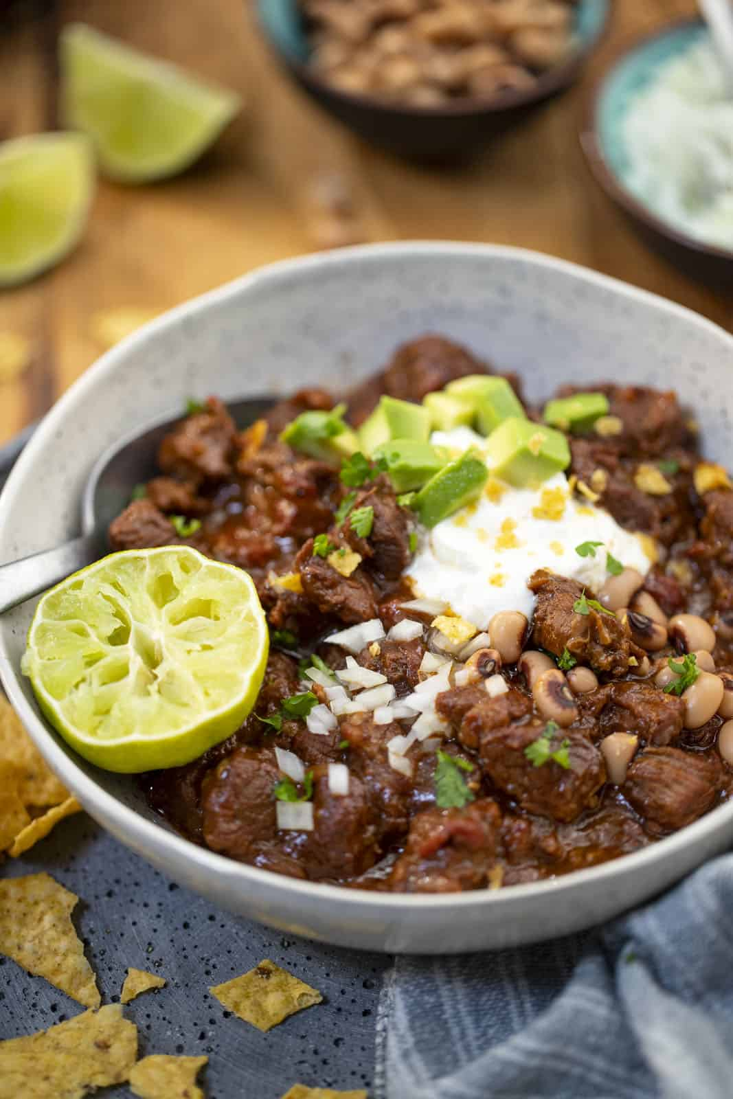 Beef Chili Texas Style