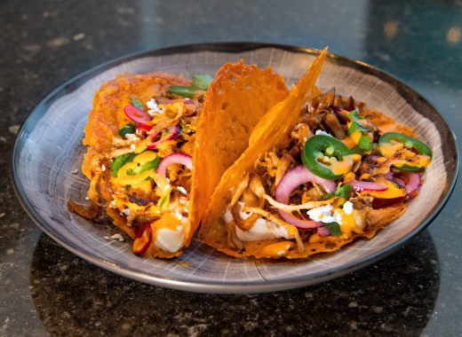 Kaas tacos pulled chicken