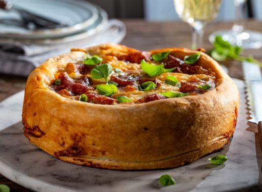 Pizzataart van foodblabla