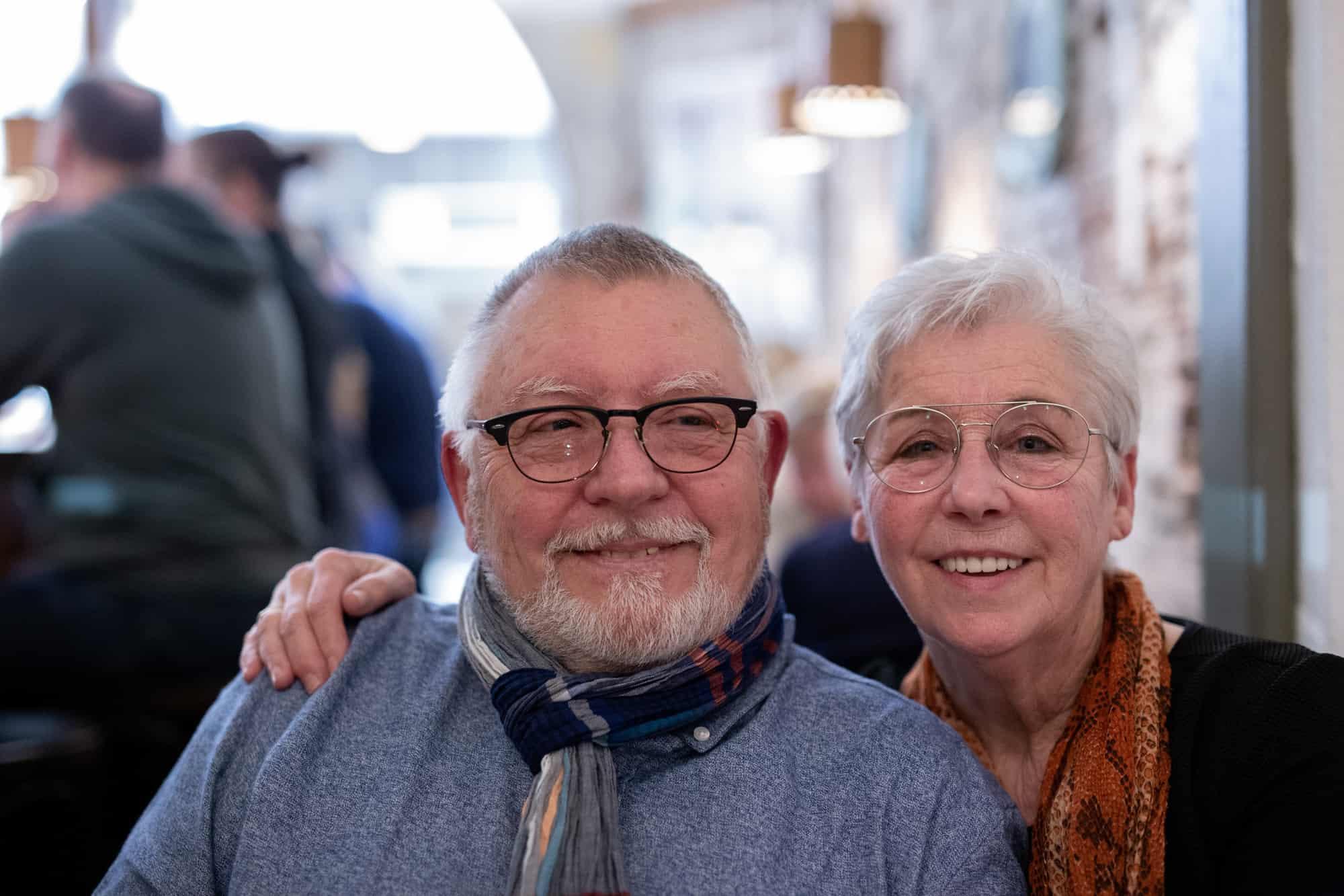 Fred & Ria bij de Zilte Zeemeermin
